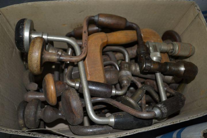 Vintage Tools - BRACES/BITS/AUGERS/HAND DRILLS