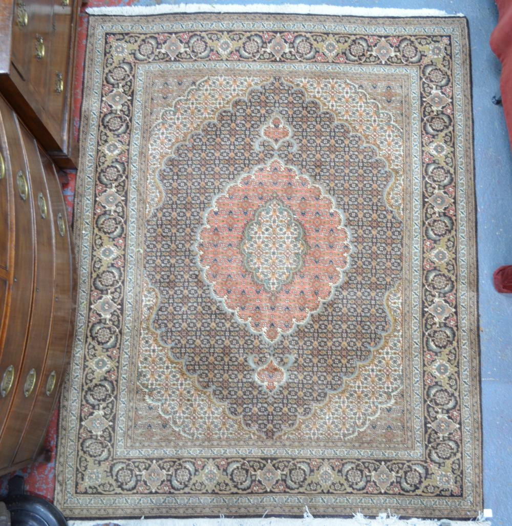 A Persian Ardbil besign rug
