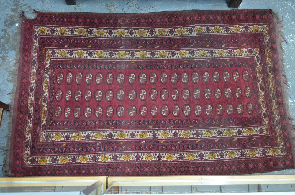 An old Persian Kurd rug