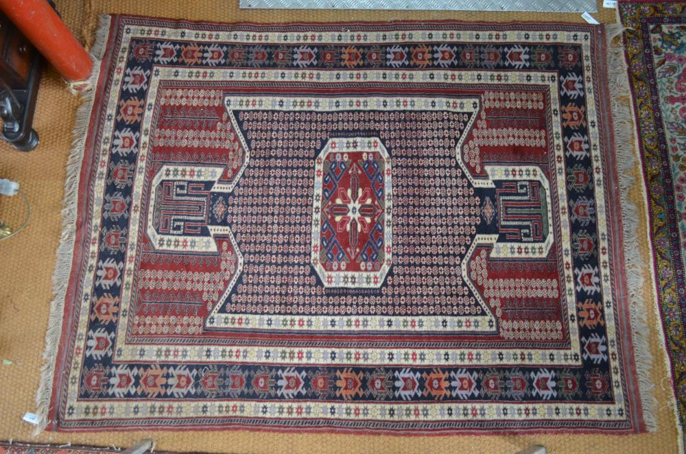 A contemporary fine Persian Qashqai rug