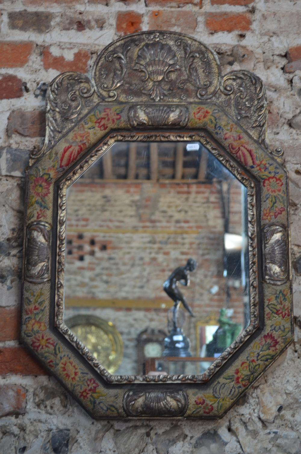 A pair of William & Mary style mirrors