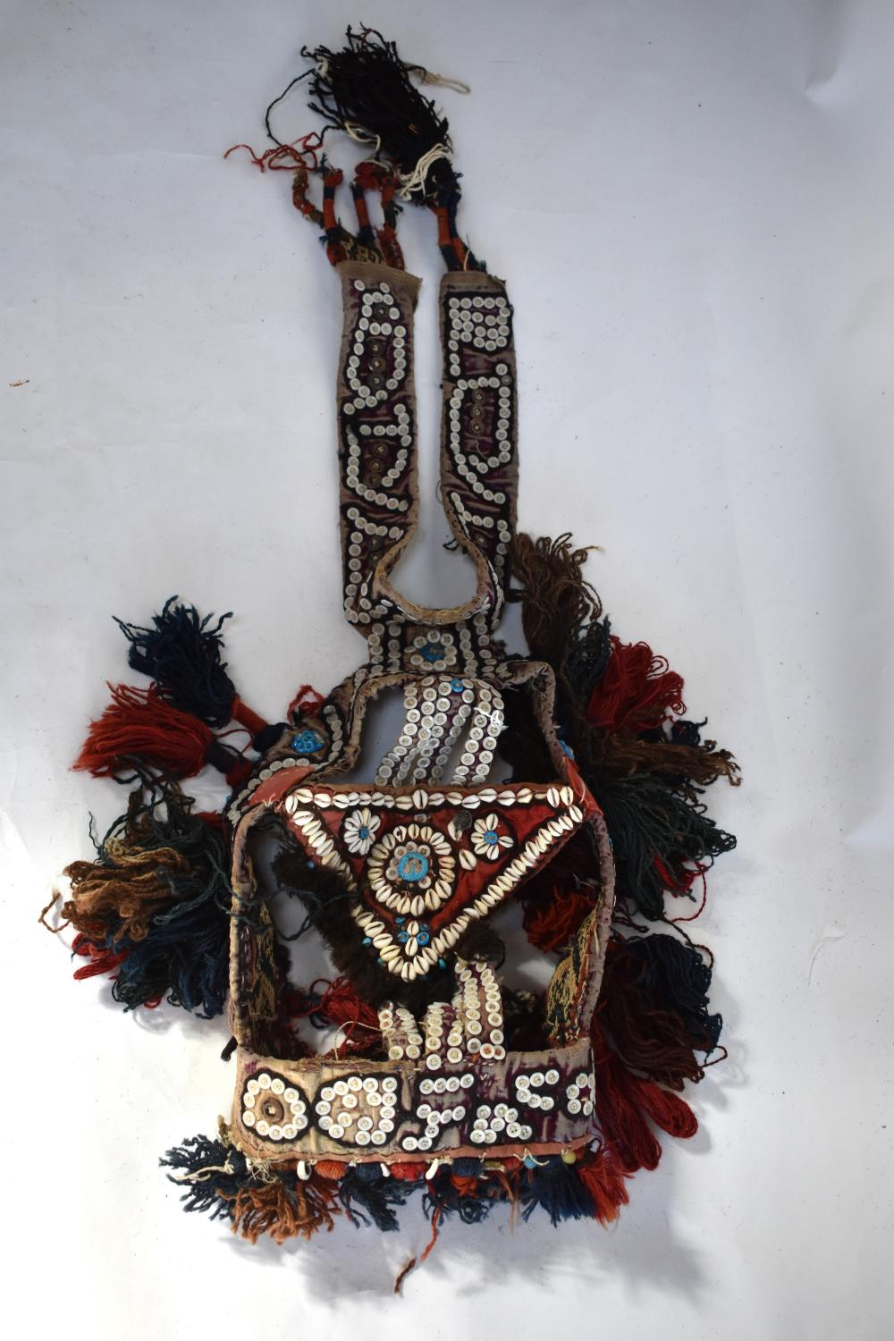 Ceremonial camel head-dress