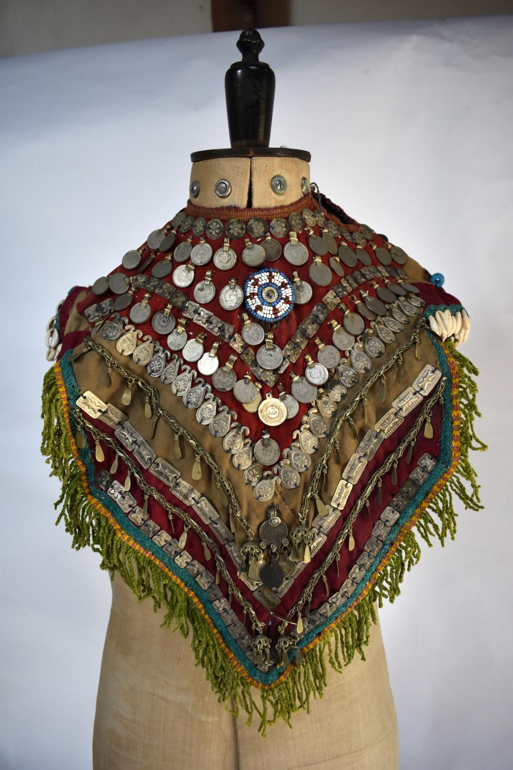 Early 20th century Tibetan child's ceremonial cape