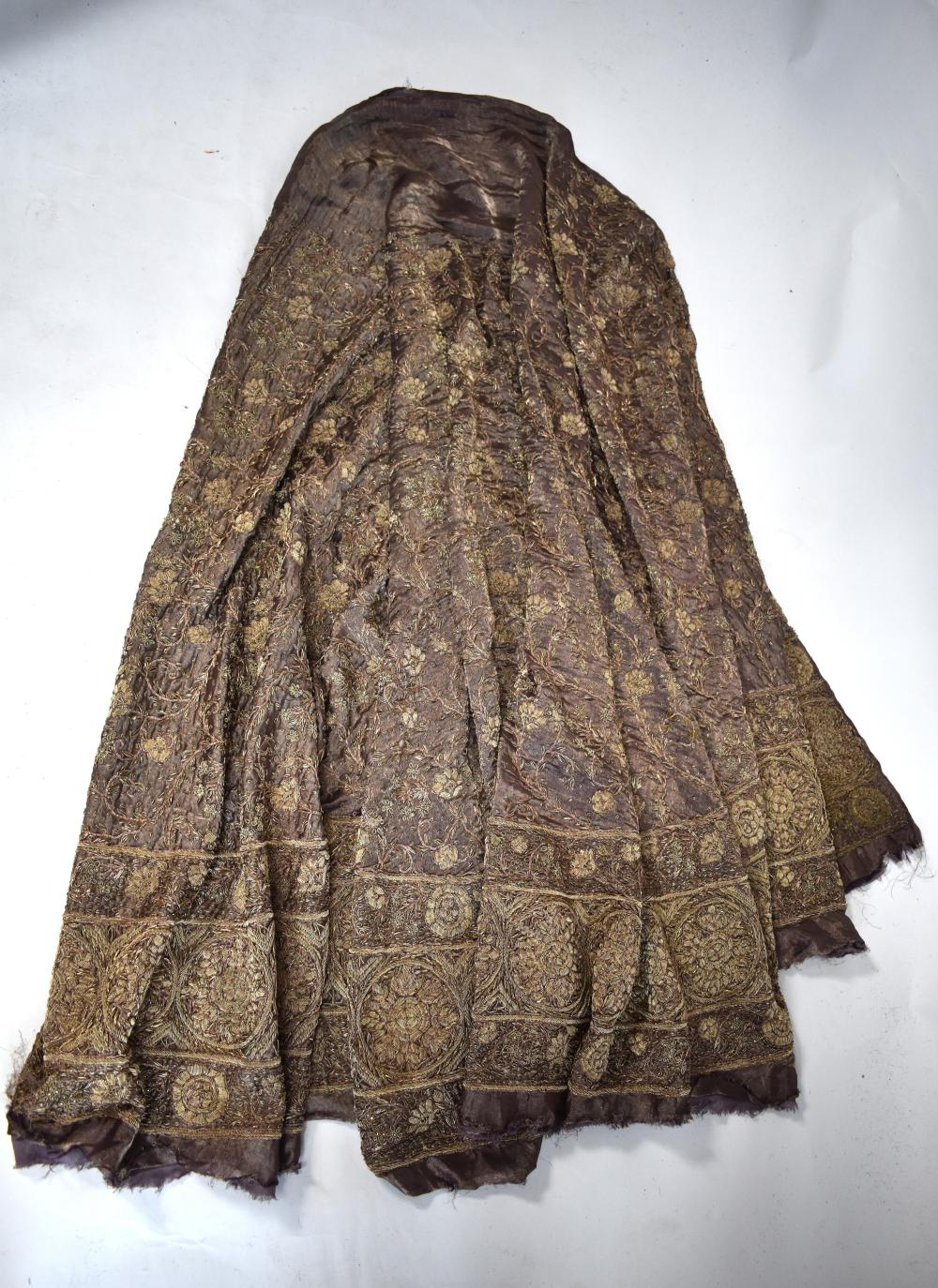 Afghanistan wedding skirt