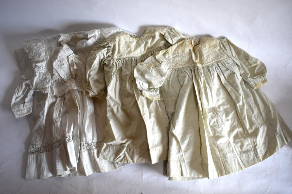 Large collection of Victorian and later children's clothing