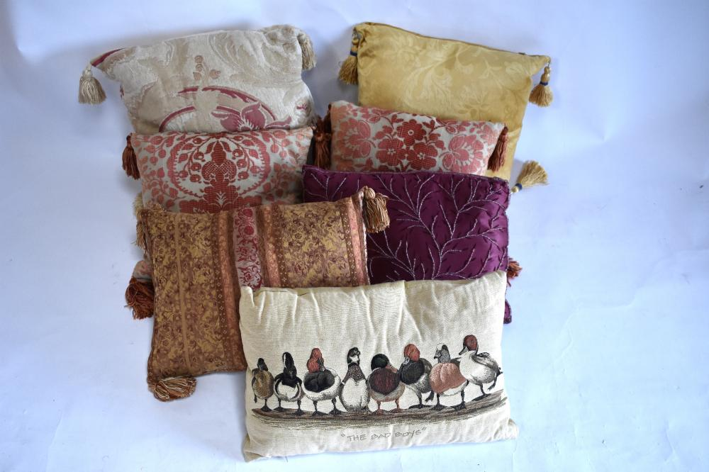 Laura Ashley feather cushions