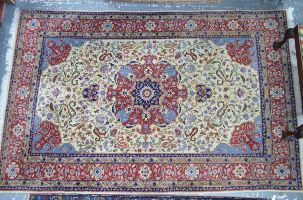 An old Persian Tabriz carpet