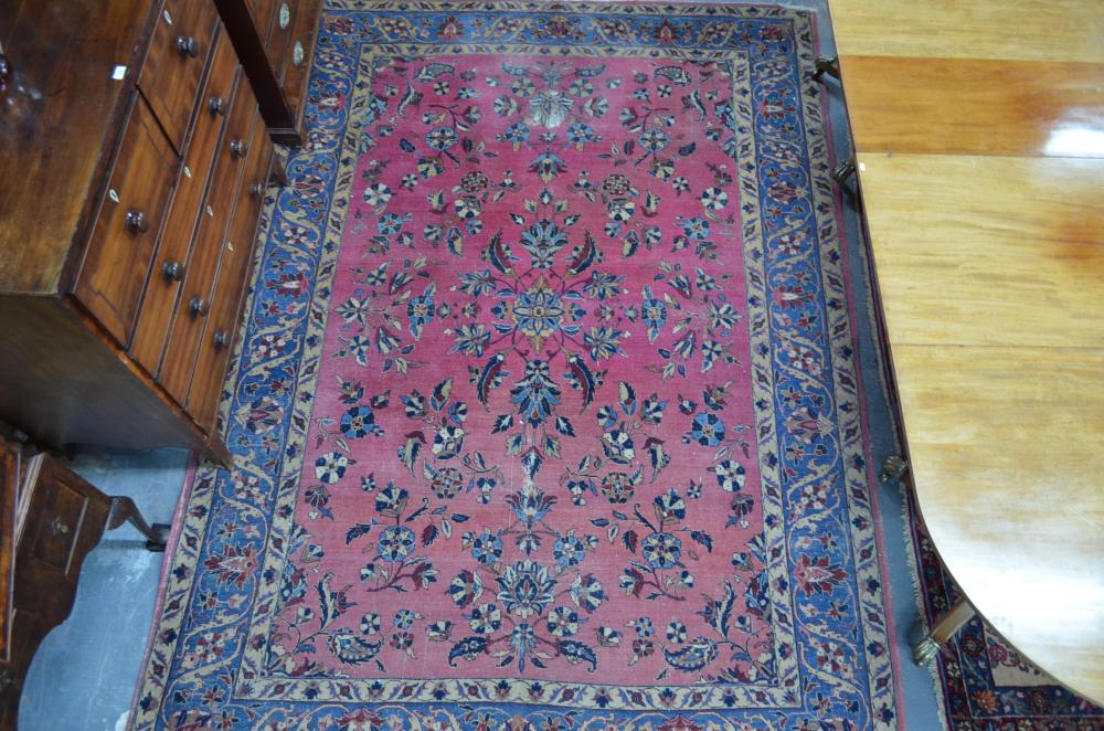 An antique Persian Lilihan/Meshed carpet