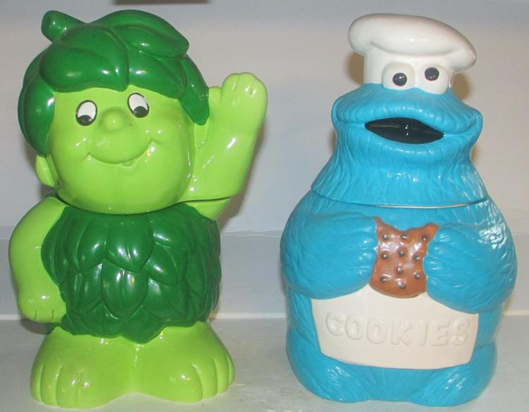 Jolly Green Giant & Muppets Cookie Jars