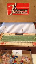 Foto Electric Football Game 1941 By Cadaco