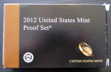 2012 United States Mint Proof (14)-Coin Set