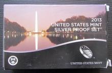 2013 United States Mint Silver Proof Set