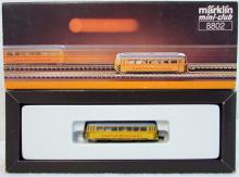 Marklin 8802 Z-Scale Track Cleaning Railcar / Bus