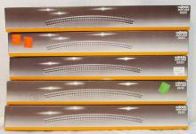 (5) boxes Marklin Z-Scale 8520 8530 Curved Track