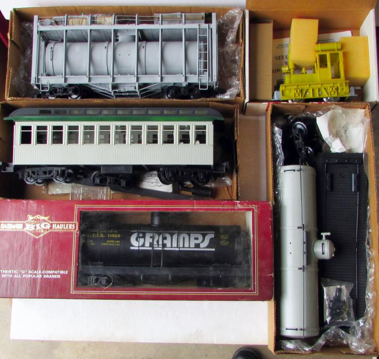 Lot Of 5 G Scale Bachmann Amp Mdc Trains