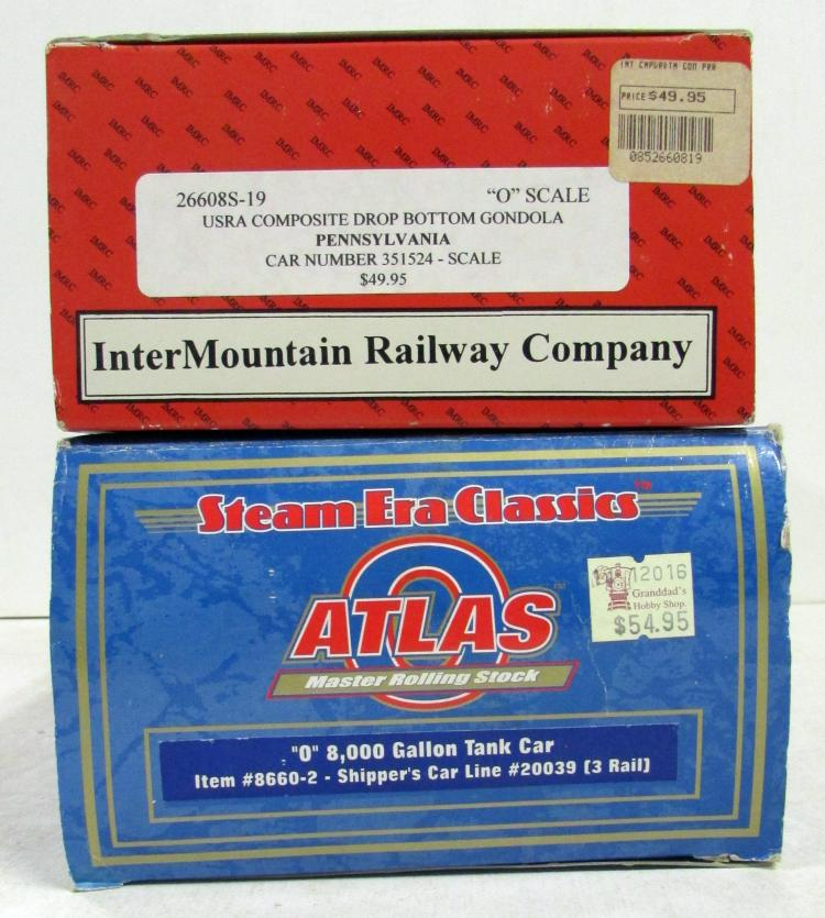 2 O Scale Freight Cars Pennsylvania Amp S H P X