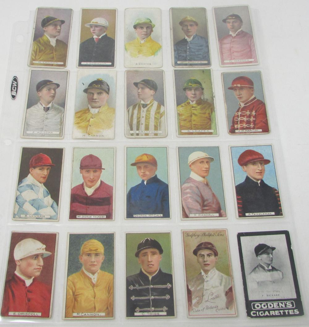 Horse Racing Jockeys Tobacco Cards 1906 RARE