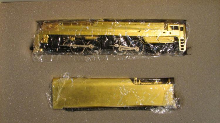Sunset Brass HO PRR 4-4-4-4 T-1 Steam Locomotive