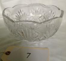 Rogaska Crystal Bowl