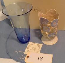 New Pierced Morning Glory Lenox Vase