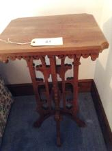 Ornate Table Handcrafted by Earl Albright