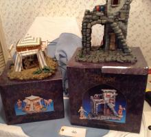 Fontanini Inn and King Tent with Boxes
