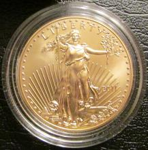 2011-W $50 American Eagle One-Ounce Gold UNC Coin