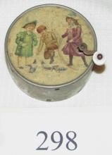 Beautiful Victorian Music Box w 3 Children
