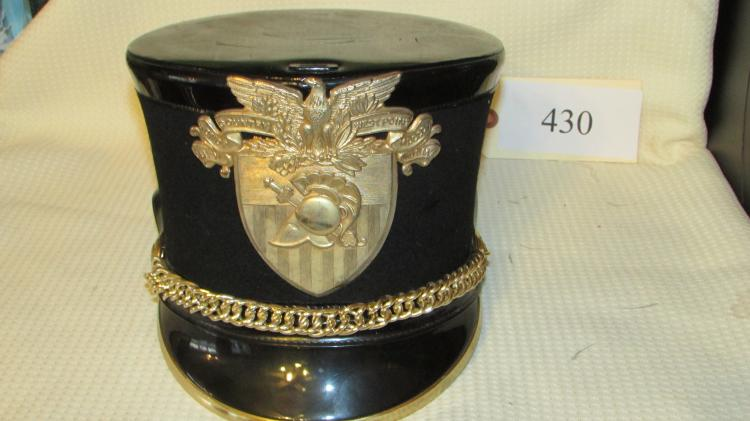 Full Dress West Point Shako With Plume