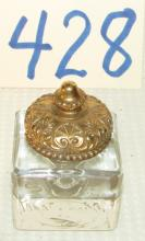 Very Rare Marked Parkesburg Pa Inkwell