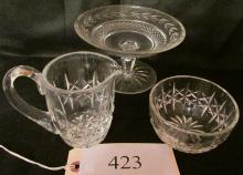 3 Pieces of Waterford Crystal
