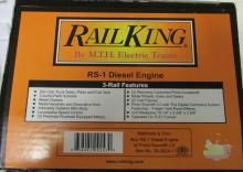 M.T.H. Rail King Baltimore & Ohio Alco RS-1 Diesel Engine w/ Proto-Sound 2.0 (3 Rail) NIB