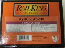 M.T.H. Rail King Pennsylvania AS-616 Diesel Engine w/ Proto-Sound 2.0 (3 Rail) NIB