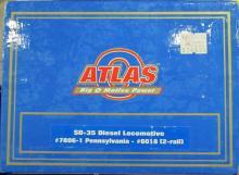 Atlas SD-35 Diesel Locomotive #7806-1 Pennsylvania #6018 (2 Rail) NIB
