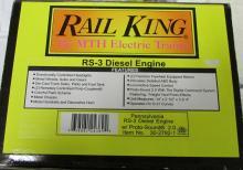 M.T.H. Rail King Pennsylvania RS-3 Diesel Engine w/ Proto-Sound 2.0 NIB