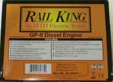 M.T.H. Rail King Baltimore & Ohio GP-9 Diesel Engine w/ Proto-Sound 2.0 NIB