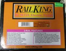 M.T.H. Rail King Pennsylvania 2-10-0 Decapod Steam Engine w/ Proto-Sound 2.0 (3-Rail) NIB
