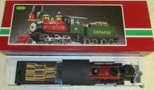 LGB 2018D DSP & PRR Steam Mogul Locomotive & Tender NIB