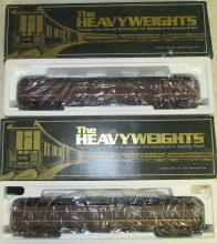 (4) K-Line Heavyweights Pennsylvania Railroad Passenger Cars MIB