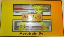 MTH Railking Pennsylvania (#1000) Aerotrain Deisel Engine Set NIB
