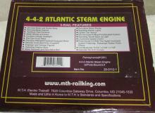 MTH Pennsylvania (#1281) 4-4-2 Atlantic Steam Engine w/ Proto-Sound 2.0 NIB