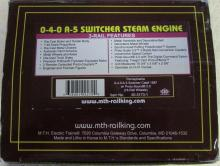 MTH Pennsylvania 0-4-0 A-5 Switcher Steam Engine (#1587) w/ Proto-Sound 2.0 NIB