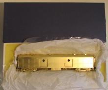 Rail Works Brass HO PRR B-60 Arch Roof Baggage Car