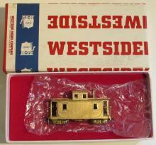 Westside Brass HOn3 D&RGW Short Caboose #0575 MIB