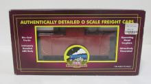 MTH O Scale Undecorated Red A1 Caboose MIB