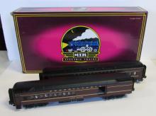 MTH 20-4144 PRR Madison Combine/Diner Car Set MIB