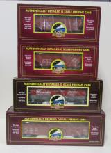 (4) MTH O Scale New York Central NYC Train Cars