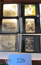 (10) Vintage Military Magic Lantern Slides Excellent Mix