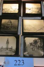 (30+) Vintage Magic Lantern Slides Expo's Worlds Fairs etc