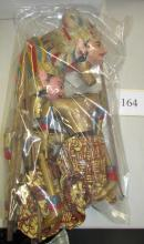 2 Handcrafted Wayang-Golek Hand Puppets